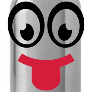 Smiley pulls the tongue 701 T-Shirts - Water Bottle