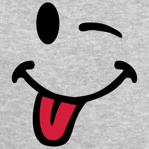 Smiley pulls the tongue 7012 T-Shirts - Men's Sweatshirt by Stanley & Stella