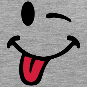 Smiley pulls the tongue 7012 T-Shirts - Men's Premium Longsleeve Shirt