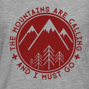 The Mountains are Calling Hoodies & Sweatshirts - Men's Premium Longsleeve Shirt