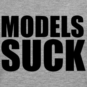 Models suck T-Shirts - Men's Premium Longsleeve Shirt