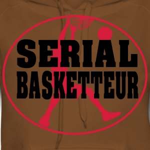 serial basketteur - Sweat-shirt à capuche Premium pour femmes