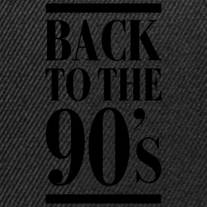 Back To The 90´s T-shirts - Snapback Cap