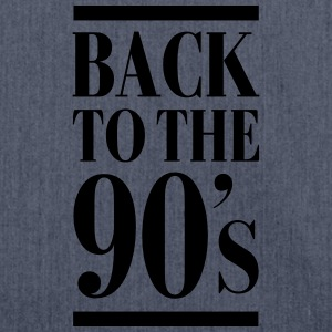 Back To The 90´s Tee shirts - Sac bandoulière 100 % recyclé