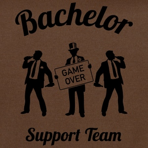 Bachelor Game Over Support Team (Stag Party / 1C) T-Shirts - Shoulder Bag