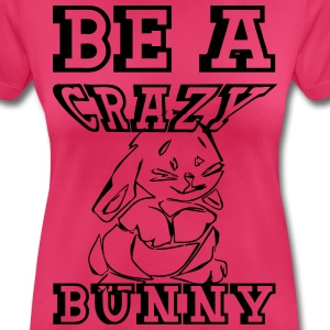 Crazy Bunny Tops - Women's Breathable T-Shirt