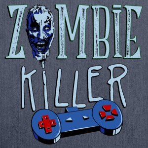 zombie_killer_gamer_03201603 T-Shirts - Schultertasche aus Recycling-Material