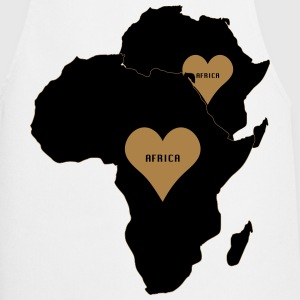 africa love t-shirt - Cooking Apron