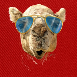 Camel with sunglasses Shirts - Snapback cap
