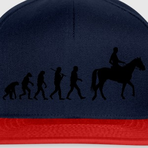 Evolution of horse riding T-Shirts - Snapback Cap
