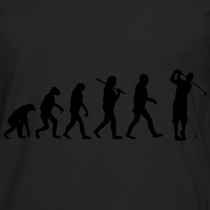 Evolution of golf Pullover & Hoodies - Männer Premium Langarmshirt