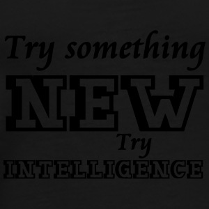 Try Intelligence Mugs & Drinkware - Men's Premium T-Shirt