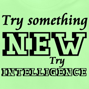 Try Intelligence Shirts - Baby T-Shirt