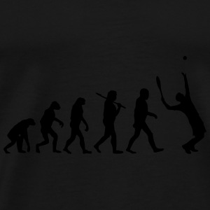 Evolution of tennis Pullover & Hoodies - Männer Premium T-Shirt