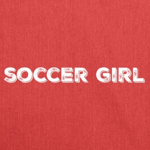 SOCCER GIRL LOGO SHIRT - Shoulder Bag made from recycled material