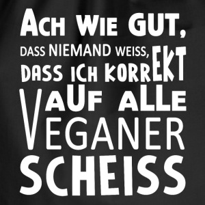 Antivegan / Gegen Vegan Pullover & Hoodies - Turnbeutel