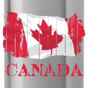 Canada Flag  Pullover & Hoodies - Trinkflasche