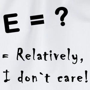 relatively i don`t care T-shirts - Sportstaske
