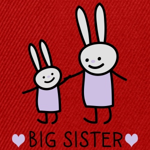 big sister (rabbits) Long Sleeve Shirts - Snapback Cap