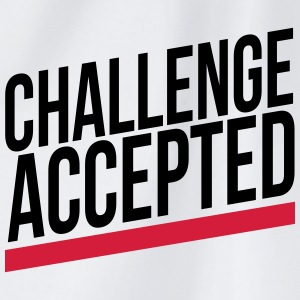 challenge accepted T-shirts - Gymtas