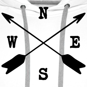 arrows T-Shirts - Men's Premium Hoodie