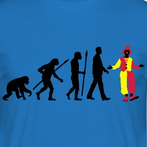 evolution_of_man_clown01 Schürzen - Männer T-Shirt