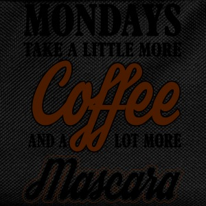 mondays take more coffe and mascara Skjorter med lange armer - Ryggsekk for barn