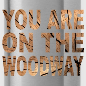 Woodway - Trinkflasche