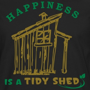 Happy Gardening Allotment Landscaping T-Shirts - Men's Premium Longsleeve Shirt