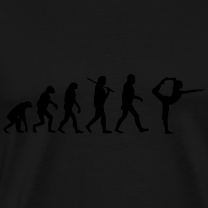 evolution of yoga Pullover & Hoodies - Männer Premium T-Shirt