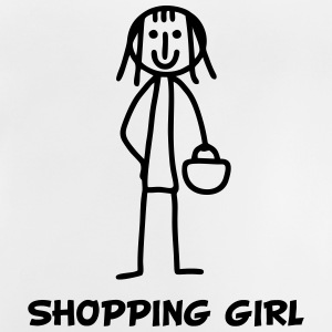 Shopping Girl Langarmshirts - Baby T-Shirt