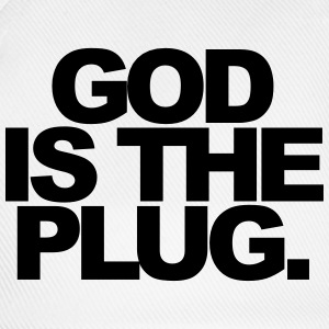 God is the plug Mokken & toebehoor - Baseballcap