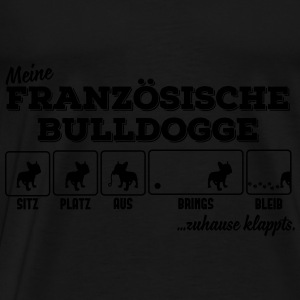 My French Bulldog - home klappts Tops - Men's Premium T-Shirt