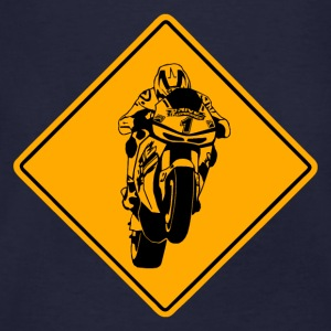 Superbike Road Sign Pullover & Hoodies - Männer Bio-T-Shirt