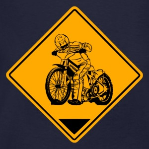 Speedway Road Sign Felpe - T-shirt ecologica da uomo
