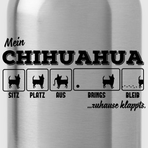 Mein Chihuahua - zuhause klappts Tops - Trinkflasche