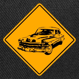Car Road Sign T-Shirts - Snapback Cap