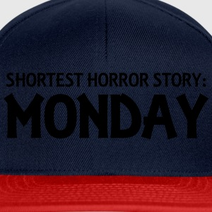 Shortest Horror Story: Monday T-Shirts - Snapback Cap