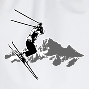 Ski Alpine T-Shirts - Turnbeutel