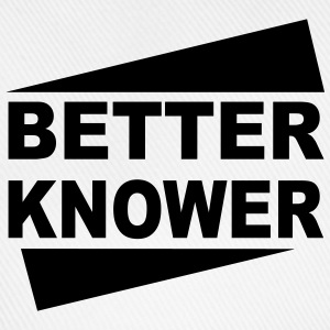 Betterknower - Baseballkappe