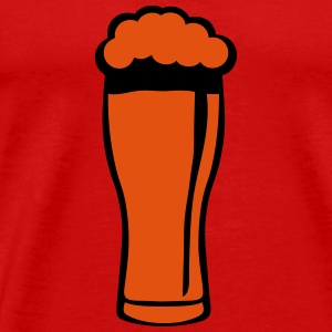 Beer glass foam 220223 Long Sleeve Shirts - Men's Premium T-Shirt