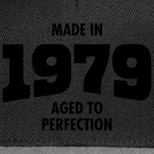 Made In 1979 - Aged To Perfection T-Shirts - Snapback Cap