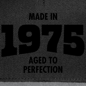Made In 1975 - Aged To Perfection T-skjorter - Snapback-caps