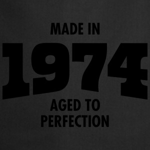 Made In 1974 - Aged To Perfection Koszulki - Fartuch kuchenny