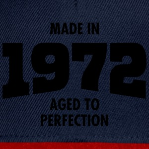Made In 1972 - Aged To Perfection Camisetas - Gorra Snapback