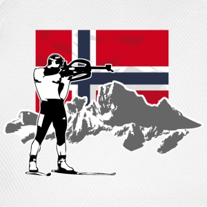 Biathlon - Norway Flag Pullover & Hoodies - Baseballkappe