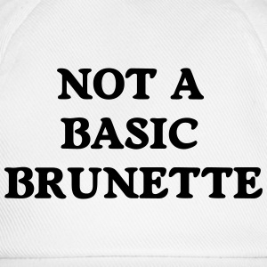 not a basic brunette T-Shirts - Baseballkappe