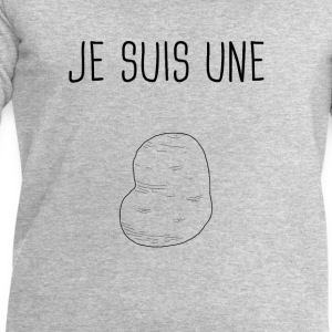 Je suis une patate - Sweat-shirt Homme Stanley & Stella
