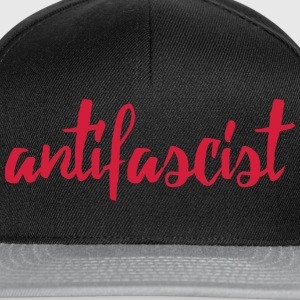 antifascist red T-Shirts - Snapback Cap