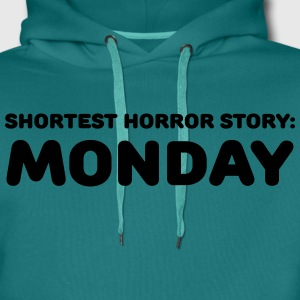 Shortest Horror Story: Monday T-Shirts - Männer Premium Hoodie